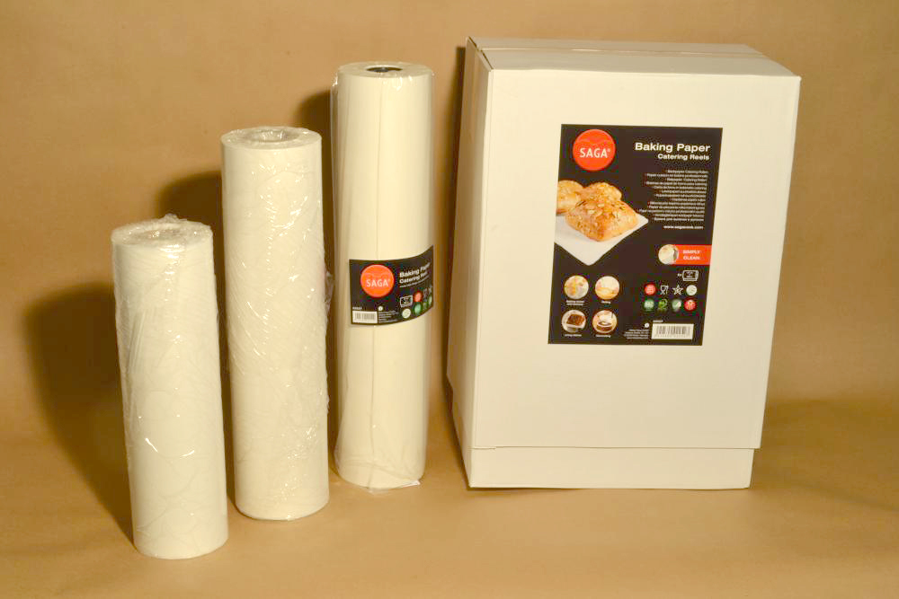 baking paper Silicone is used as coating for baking paper baking paper, or parchment paper for that matter, is known to show more resistance to heat than wax paper although bakers use both the types of papers, they prefer to use baking paper more due to the fact that baking paper is non-stick in character.